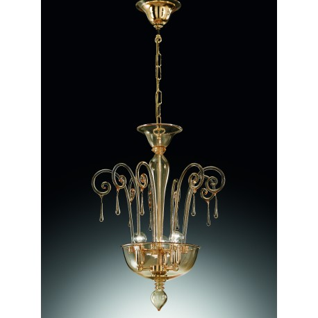 Murano artistic glass chandelier 1179/S