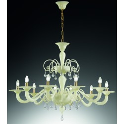 Murano artistic glass chandelier 1185/6