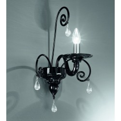 Murano glass artistic wall lamp 1185/A1
