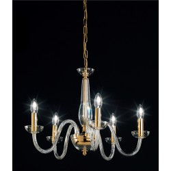 OR Blown glass chandelier 101/5