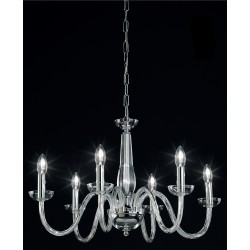 OR Blown glass chandelier 101/6