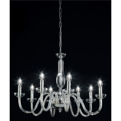 OR Blown glass chandelier 101/8