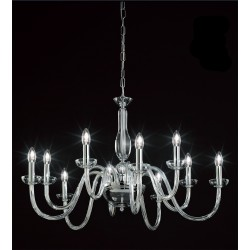 OR Blown glass chandelier 101/5+5