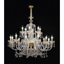 Lead Crystal chandelier Asfur 444/12+6/ASF