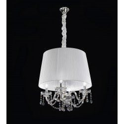 Lead Crystal chandelier Asfur 444/S4/ASF