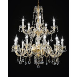 Asfour crystal chandelier 407/10+5/OL/ASF