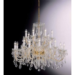 Asfour crystal chandelier 407/16+8/OL/ASF