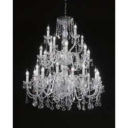 Asfour crystal chandelier 407/16+8+4/CR/ASF
