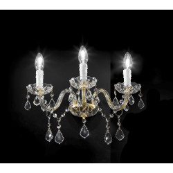 Asfour crystal wall lamp 407/A3/OL/ASF