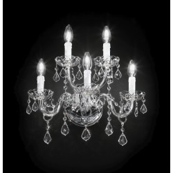 Asfour crystal wall lamp 407/A3+2/CR/ASF
