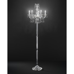 Asfour Crystal floor lamp 407/PT5/CR/ASF