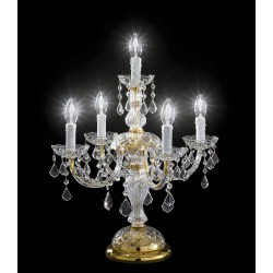 Asfour Crystal Table lamp 407/FL4+1/OL/ASF