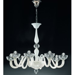 Murano artistic glass chandelier 925/8