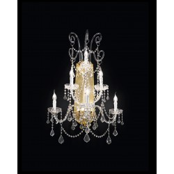 Asfour crystal wall lamp 463/A3+2+1/OL/ASF