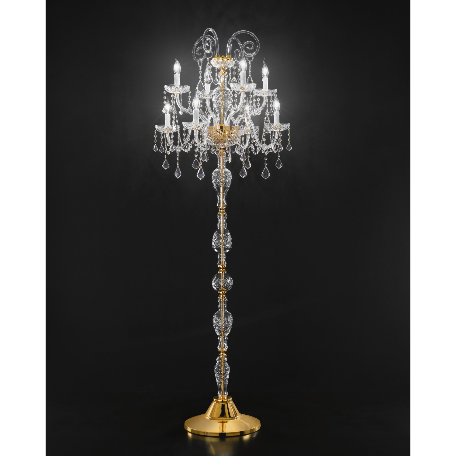 asfour crystal floor lamp