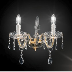 Asfour crystal wall lamp 408/A2/OL/ASF