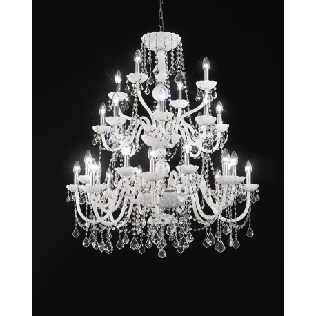 Lead crystal chandelier 4541684crmc bianco artital lighting lead crystal chandelier 4541684crmc bianco aloadofball Image collections