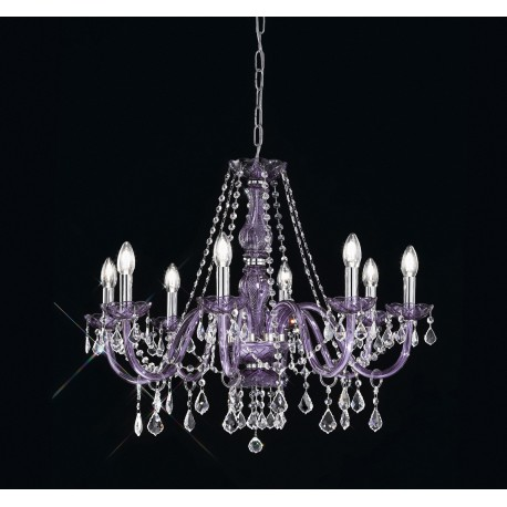 Lead crystal chandelier 4548crmc viola artital lighting home lead crystal chandelier 4548crmc viola aloadofball Image collections