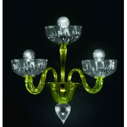 Murano glass artistic wall lamp 925/A3