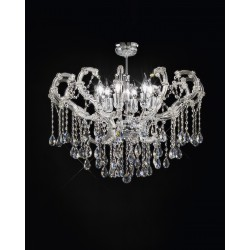 Asfour crystal ceiling lamp 489/PL71/CR/ASF